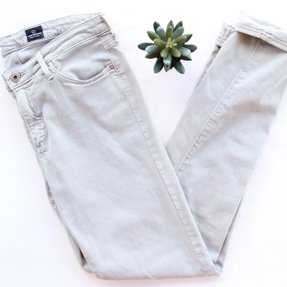 Ag Adriano Goldschmied Denim - AG The Prima Mid Rise Cigarette Skinny Jeans 29R